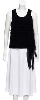 Calvin Klein Collection Silk Sleeveless Top