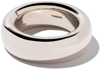 Pomellato 18kt white gold Iconica small band ring