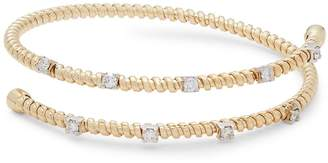 Saks Fifth Avenue Women's Diamond and 14K Yellow Gold Adjustable Bracelet