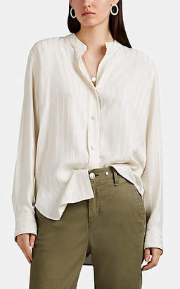 Rag & Bone Women's Adrian Striped Button-Front Blouse - Cream