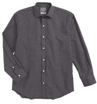 Thomas Dean Check Dress Shirt