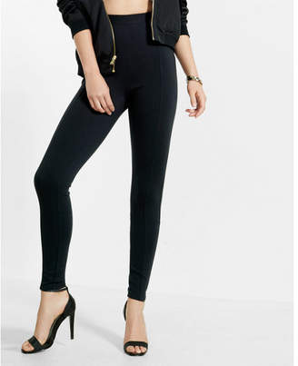Express high waisted ponte knit legging $49.90 thestylecure.com