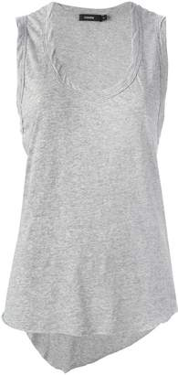 Bassike scoop neck tank top