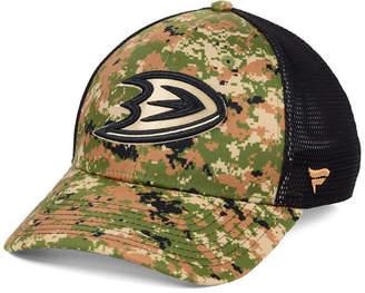 Authentic Nhl Headwear Anaheim Ducks Military Appreciation Speed Flex Stretch Fitted Cap