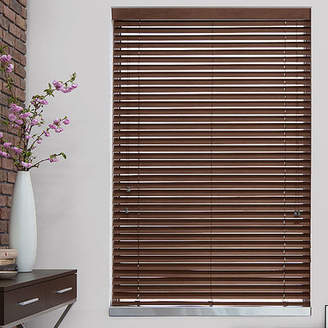 SoHo Shade Company 2 Nutmeg Faux Wood Blind