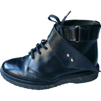 Adieu Leather lace up boots