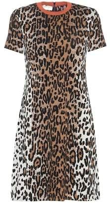 Stella McCartney Knitted wool-blend dress