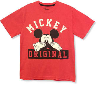 DISNEY MICKEY MOUSE Disney Hanging Mickey 90th Collection Short Sleeve Crew Neck T-Shirt Boys