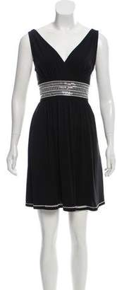 Mastermind Japan Sleeveless Silk Mini Dress
