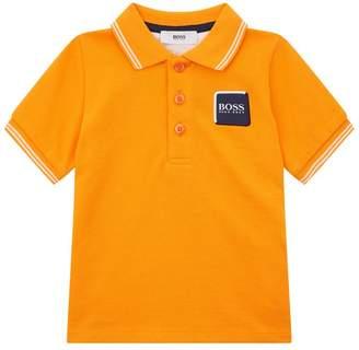 BOSS Logo Patch Polo Shirt