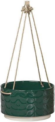 Orla Kiely Sixties Stem Ceramic Hanging Pot