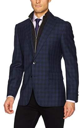 Robert Graham Men's Saranac Tailored Fit Woven Sportcoat