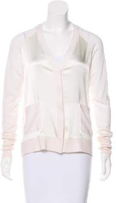 3.1 Phillip Lim Merino Wool V-Neck Cardigan