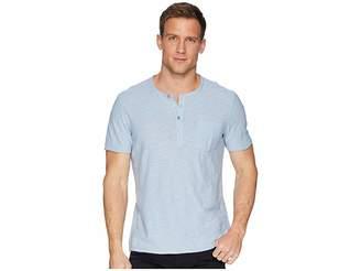 Calvin Klein Jeans Short Sleeve Slub Henley Shirt Men's T Shirt