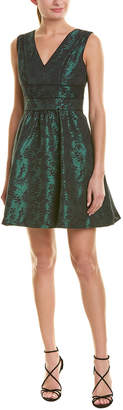 Cole Haan Jessica Simpson Jacquard A-Line Dress