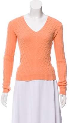 Ralph Lauren Cashmere Long Sleeve Sweater