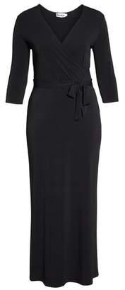 Leota Perfect Faux Wrap Maxi Dress