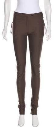 Ilaria Nistri Mid-Rise Straight-Leg Pants