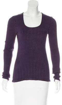 Henri Bendel Silk Knit Sweater