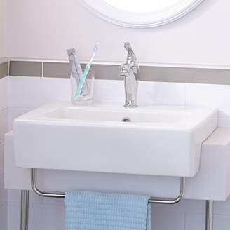 American Standard Universal Rectangular Drop-In Bathroom Sink with Overflow American Standard