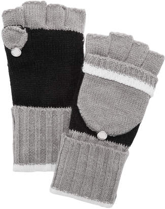 Calvin Klein Colorblocked Flip-Top Gloves