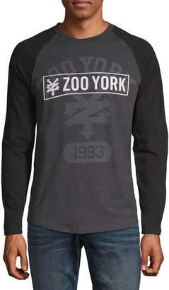 Zoo York Mens Long Sleeve Henley Shirt