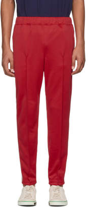 Junya Watanabe Red Smooth Sweatpants