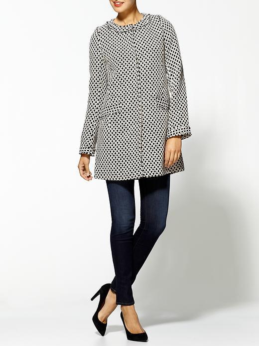 Pim + Larkin Patterned Ladylike Coat
