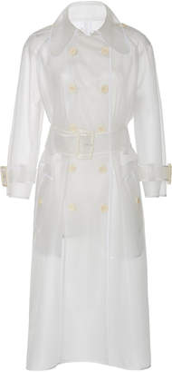 ALEXACHUNG Transparent Trench Coat