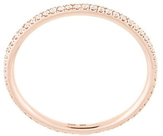 Natalie Marie 14kt rose gold Queenie Full Diamond ring