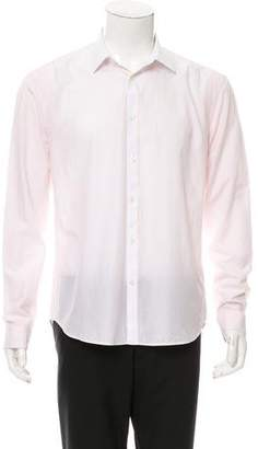 Kenzo Striped Button-Up Shirt