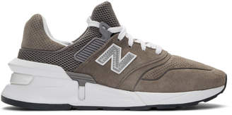 Comme des Garcons Homme Homme Grey New Balance Edition MS997 Sneakers