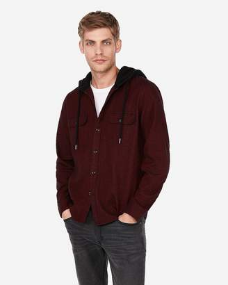 Express Flannel Hoodie