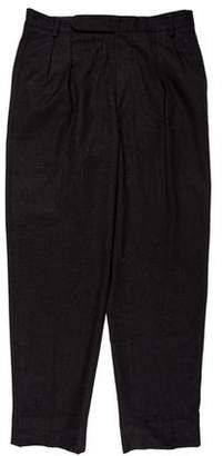 Incotex Cashmere Pleated Dress Pants