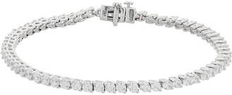 10k White Gold 5 Carat T.W. Diamond Tennis Bracelet