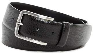 BOSS Pebbled Leather Belt