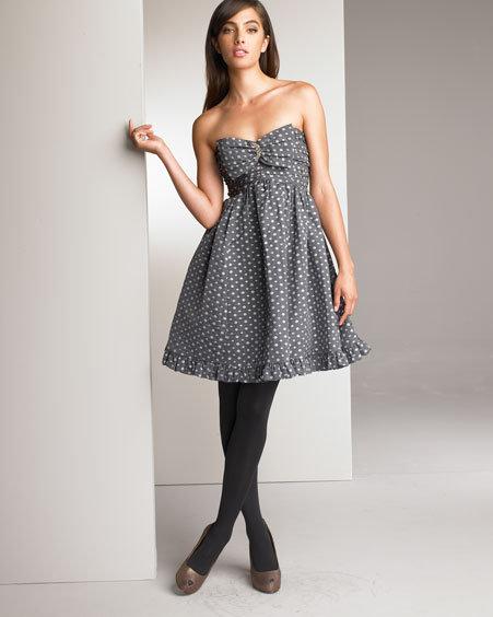 Nanette Lepore Diamond Print Dress