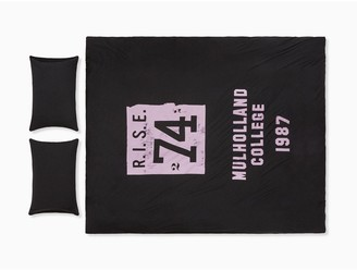 Calvin Klein modern cotton - rise 74 duvet cover in muted black