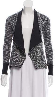 Ellen Tracy Marled Open Front Cardigan