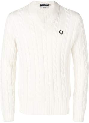 Fred Perry X Art Comes First jumper
