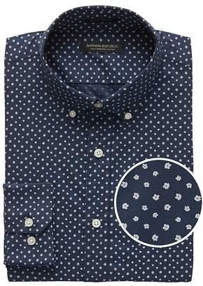 Banana Republic Slim-Fit Tech-Stretch Cotton Shirt