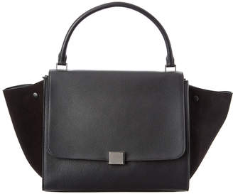 Celine Trapeze Large Leather Tote