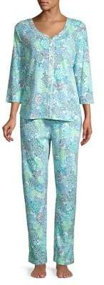 Karen Neuburger Two-Piece Pajama Set
