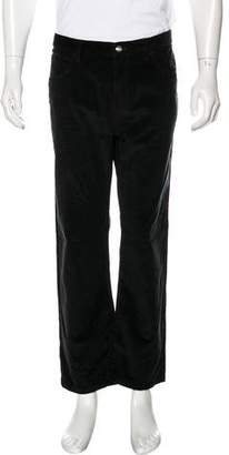 Loro Piana Corduroy Straight-Leg Pants