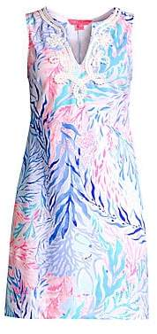 Lilly Pulitzer Women's Harper Sleeveless Print Shift Dress