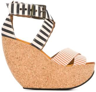 Mini Market Minimarket 'Wati' wedge sandals