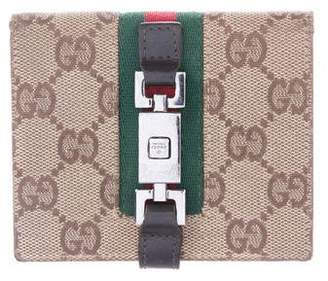 Gucci GG Canvas Jackie Wallet