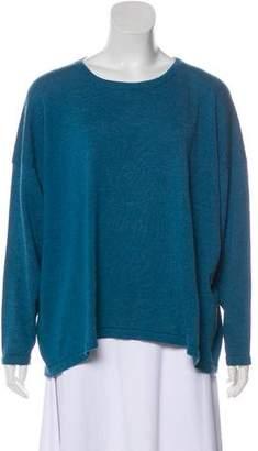 eskandar Oversize Cashmere-Blend Long Sleeve Top