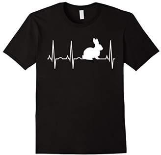 Bunny Heartbeat Shirt for Bunny Lovers - Rabbit T-Shirt