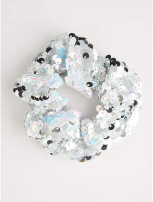 George Iridescent Sequin Scrunchie